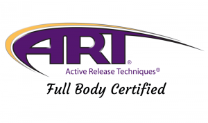 Valerie is Full Body Certified in Active Release Techniques